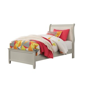 AshleySIGNATURE DESIGN BY ASHLEYJorstad - Gray 2 Piece Bed Set (Twin)