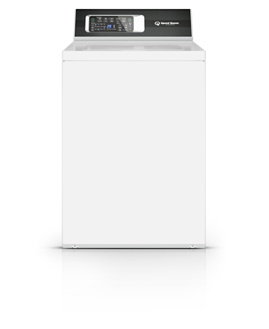 White Top Load Washer  WHITE