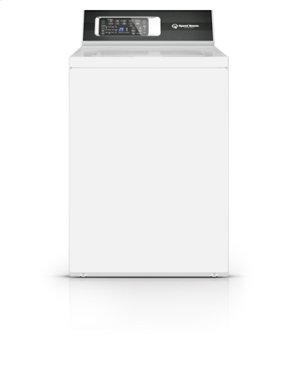 """SPEED QUEEN TR7000WN-DR7000WE White Electric Laundry Pair with TR7000WN 26"""" Top Load Washer and DR7000WE 27"""" Front Load Electric Dryer"""