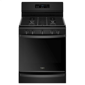 5.8 cu. ft. Freestanding Gas Range with Frozen Bake Technology - BLACK