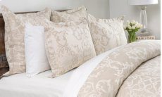 Lido Jacquard Natural Queen Duvet 92x90 Product Image