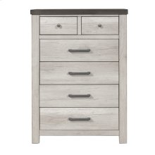 6 Drawer Chest in Riverwood Brown