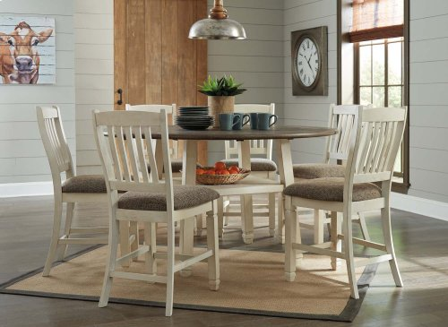 Bolanburg - Antique White Set Of 2 Dining Room Barstools