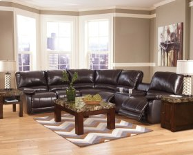 Capote - Chocolate 3 Piece Sectional