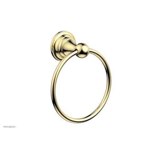 COURONNE MAISON Towel Ring 163-75 - Polished Brass