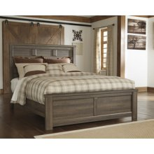 Queen Panel Bed (Headboard, Footboard and Rails)