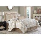 9pc Queen Comforter Set Creme Product Image