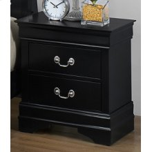 LP Black Nightstand