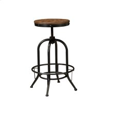 Pinnadel - Grayish Brown Set Of 2 Dining Room Barstools