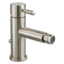 Serin 1-Handle Monoblock Bidet Faucet - Brushed Nickel