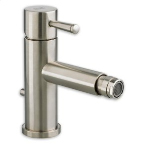 Serin 1-Handle Monoblock Bidet Faucet - Brushed Nickel