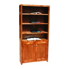 "Pacific Urban Alder 24"" & 36"" 2-Door Bookcase"
