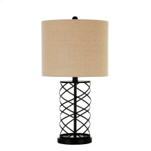 Transitional Bronze Table Lamp