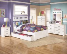 Lulu - White 5 Piece Bed Set (Full)