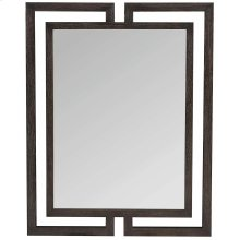 Decorage Mirror in Cerused Mink (380)