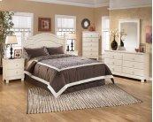Cottage Retreat - Cream Cottage 5 Piece Bedroom Set