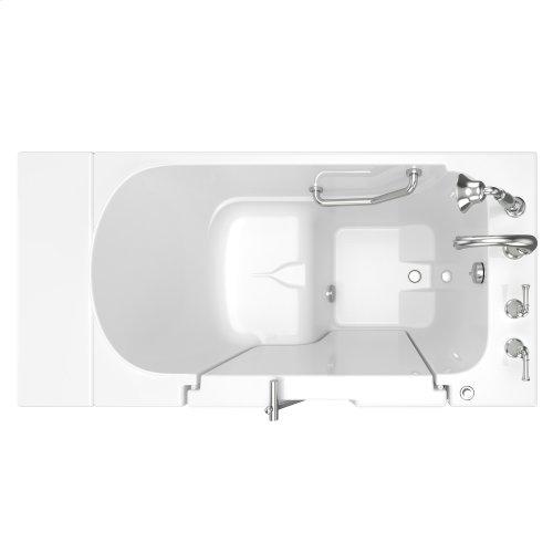 Gelcoat Value Series 30x52-inch Outward Opening Door Soaking Walk-In Bathtub  American Standard - White
