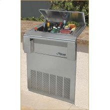 Versa Chill Counter-top Refrigerator Stainless Steel