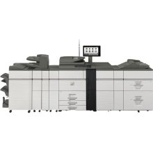 70 ppm B&W and Color networked digital MFP