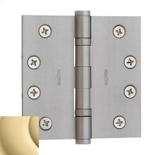 Non-Lacquered Brass Ball Bearing Hinge
