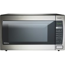 2.2 Cu. Ft. Countertop/Built-In Microwave with Inverter Technology NN-SN952S Stainless