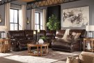 Killamey - Walnut 3 Piece Sectional Product Image