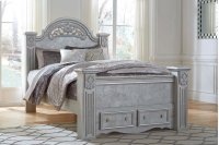 Zolena - Silver 4 Piece Bedroom Set Product Image