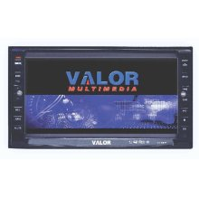 "2 DIN AM/FM/DVD Receiver with 6.5"" Touch Screen Monitor"