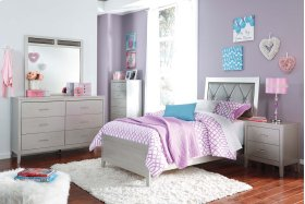 Olivet - Silver 2 Piece Bed Set (Twin)