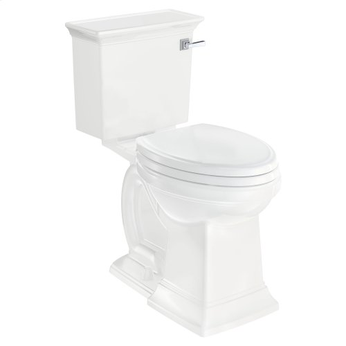 Town Square S Right Height Elongated Toilet - Right Hand Trip Lever  American Standard - White