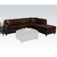 Milano Choco Revers Sectional