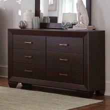 Fenbrook Dark Cocoa Six-drawer Dresser