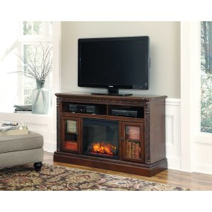 Ashley FurnitureASHLEY MILLENNIUMLG TV Stand w/Fireplace Option
