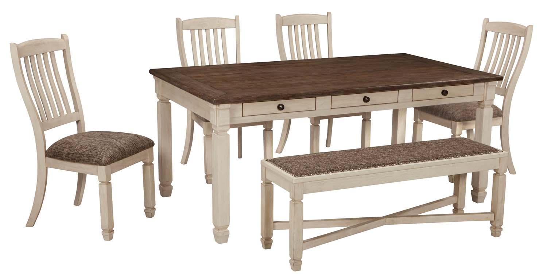 Bolanburg   Antique White 6 Piece Dining Room Set