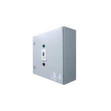 Plug-and-Play outdoor controller with 4 x 50A/3pole contactors allowing for a total load of 600A with a minimum power supply of 60A. Comes in LED enclosure with GFEP protection, built-in Digital controller and ground temperature sensor.