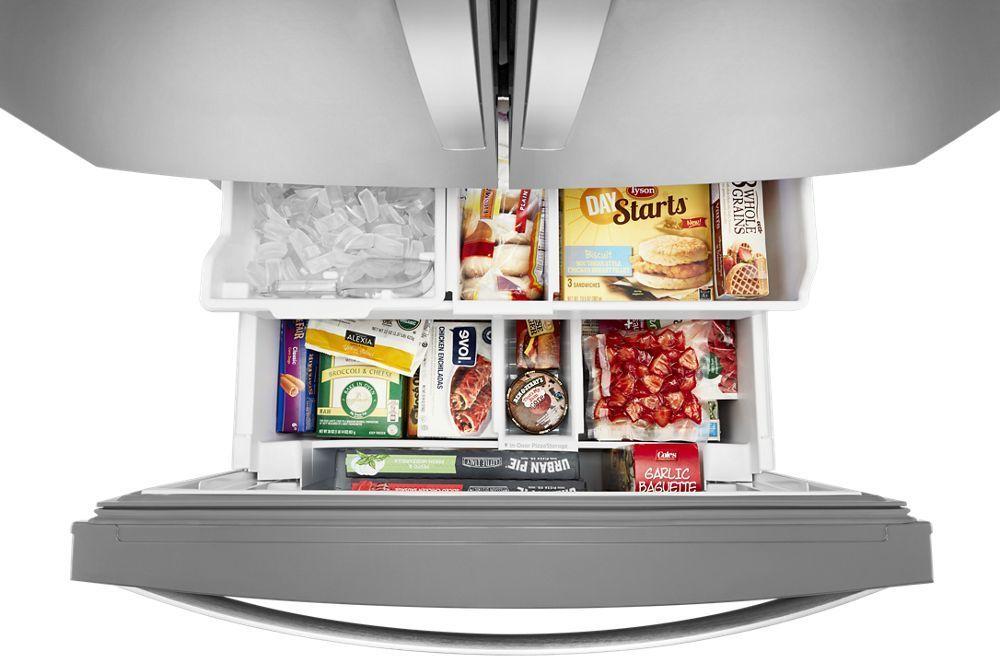 WRF767SDHZ Whirlpool 36-inch Wide French Door Refrigerator