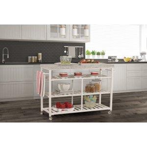 Hillsdale FurnitureKennon Kitchen Cart - Granite Top