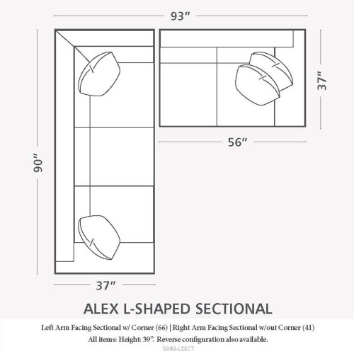 Alex L-Shaped Sectional