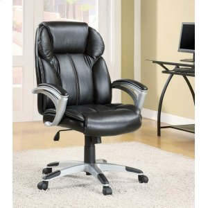 CoasterTransitional Black Office Chair
