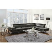 Piper Contemporary Charcoal Sectional Product Image