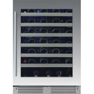 Xo Appliances24in Wine Cellar 1 Zone SS Glass RH