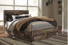 Derekson - Multi Gray 5 Piece Bed Set (Queen)