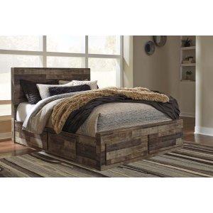 Ashley Furniture Derekson - Multi Gray 5 Piece Bed Set (Queen)