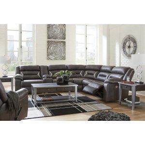 Ashley FurnitureSIGNATURE DESIGN BY ASHLEYLAF REC Power Sofa w/Console