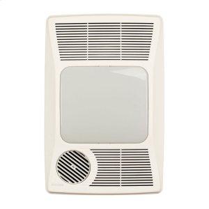 BroanHeater/Fan/Light, 1500W Heater, 27W Fluorescent Light, 100 CFM