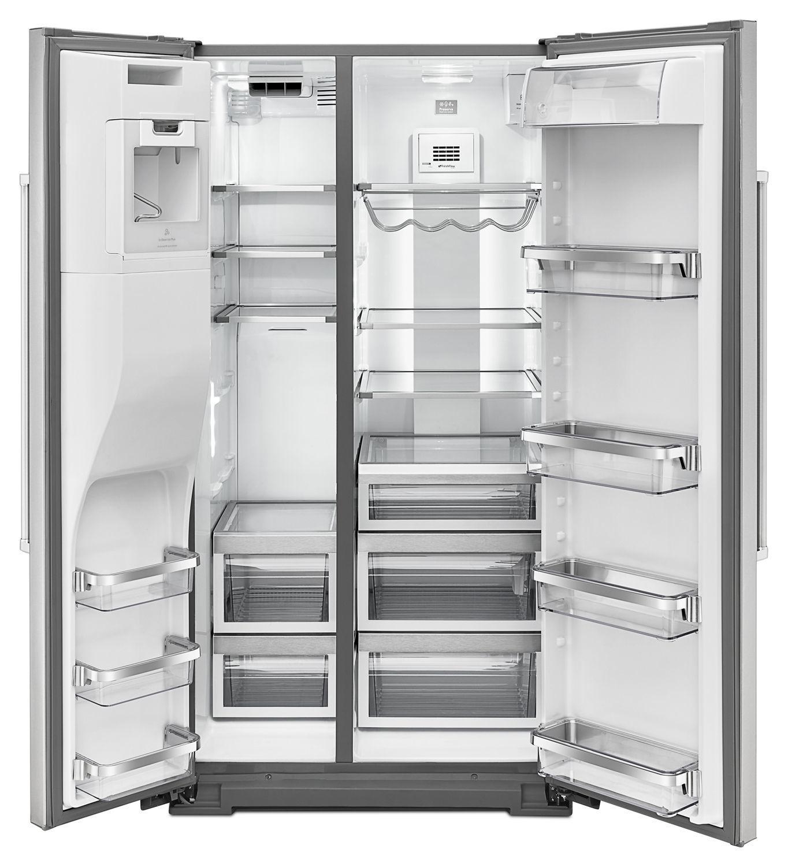 KRSF505ESS KitchenAid 24.8 Cu. Ft. Standard Depth Side-by ...
