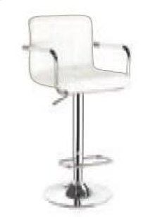 Palmer White Bar Stool