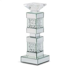 Mirrored/crystal Candle Holders Short (2/pack)