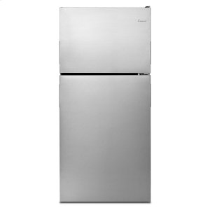 Amana30-inch Amana® Top-Freezer Refrigerator with Glass Shelves Stainless Steel