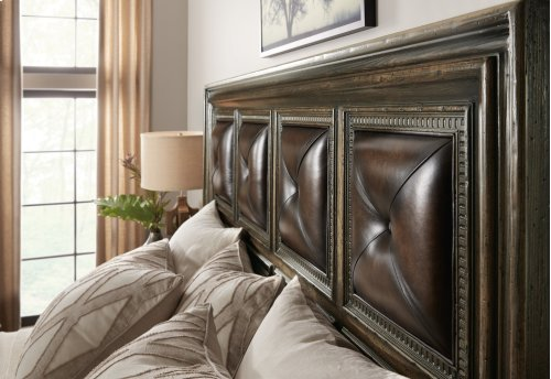 Bedroom Crafted California King Panel Bed